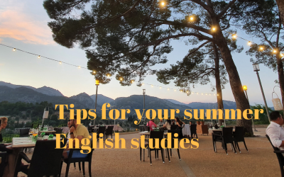 Planning on studying English this summer?