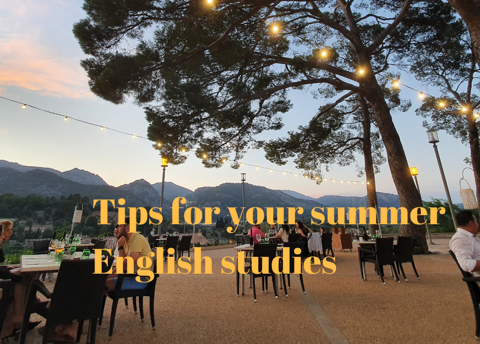 English study tips for summer